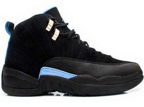 Air Jordan Retro 12 Black Blue Online